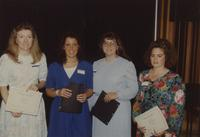 MSU students at the Nursing Dinner Award in the Centennial Student Union at Mankato State University, 1991-05-18.