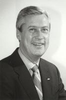 Dennis S. Erickson, Professor of Accounting, in Mankato State University, 1980s.