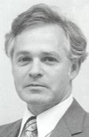 Bruce W. Smith, Associate Professor of Accounting, in Mankato State University, 1980s.
