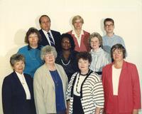 Home Economics staff and professors at Mankato State University, 1988.