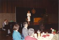 Mankato State University Retirement Banquet at CSU Ballroom, 05-31-1990.