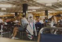 Students in the Centennial Student Union at Mankato State University, 1991-05-08.