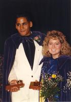 Homecoming Coronation at Mankato State University, 1989-10-18.