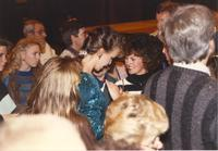 Faculty, students, and family at Mankato State University for Homecoming, 1989-10-18.