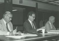 University Foundation meeting ca. 1986 at Mankato State University