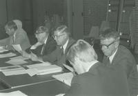 University Foundation Board meeting ca. 1986 at Mankato State University