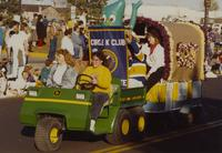 Circle K at the Homecoming Parade near Mankato State University, 1989-10-20.