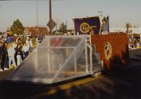 Engineering Club at the Homecoming Parade near Mankato State University, 1989-10-20.