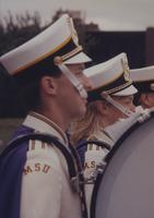 Marching Band at Mankato State University, 1994.