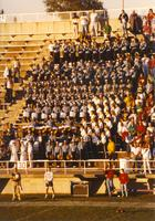 Marching Band at Mankato State University, September 15, 1990.
