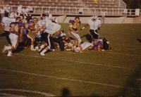 MSU vs GVSU football in Blakeslee Stadium at Mankato State University, 09-01-1990.