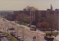 View of Nelson Hall Mankato State University May 5, 1991.