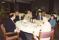 D. Peterson Ritter lunch event at Mankato State University, 1990-05-02.