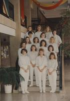 The Dental Hygiene group shot at Mankto State University, 1990-04-30.