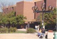 Memorial Library at Mankato State University, 1991-05-08.