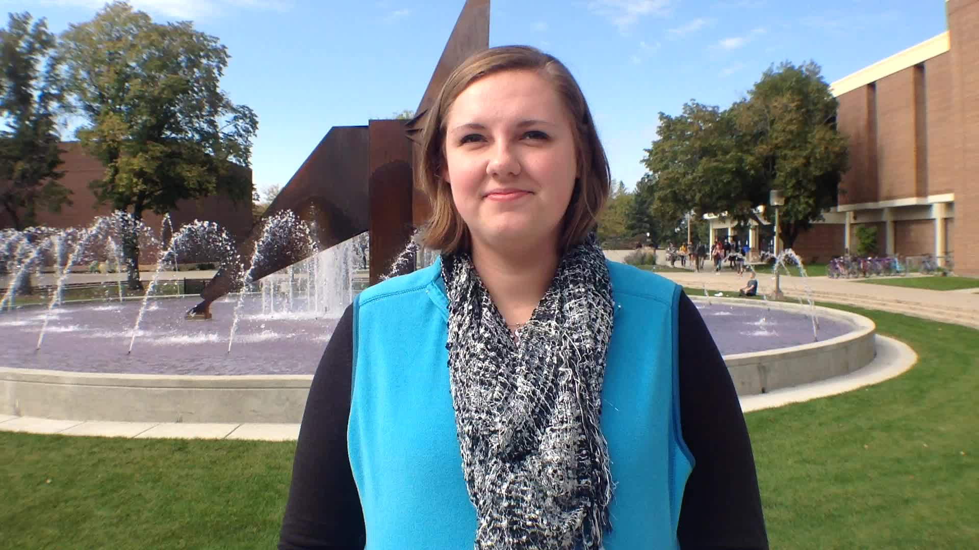 Katie Haygood, Mason City, IA - Homecoming 2015 at Minnesota State University, Mankato
