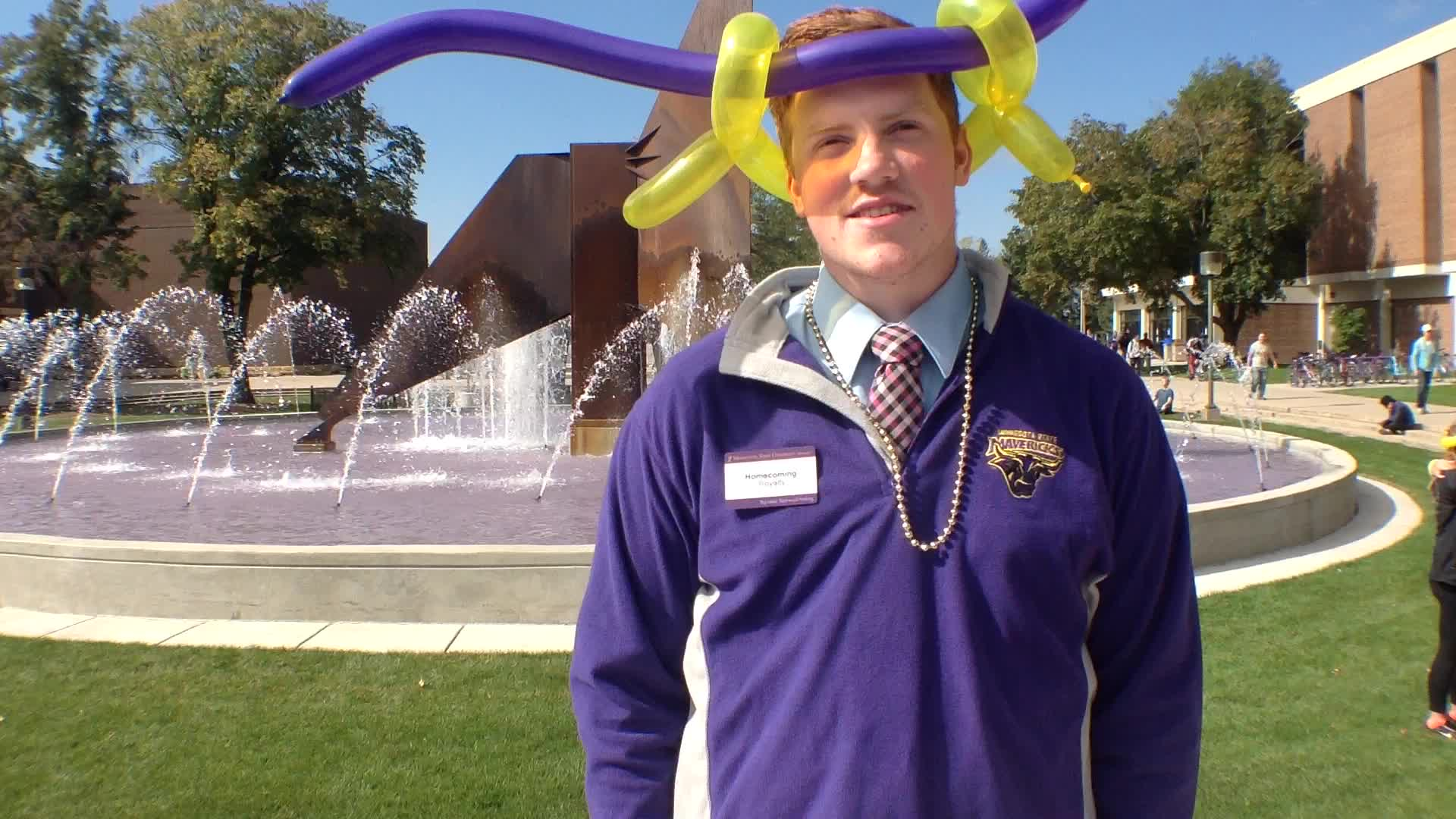 Carl Vagle, Mankato, MN - Homecoming 2015 at Minnesota State University, Mankato