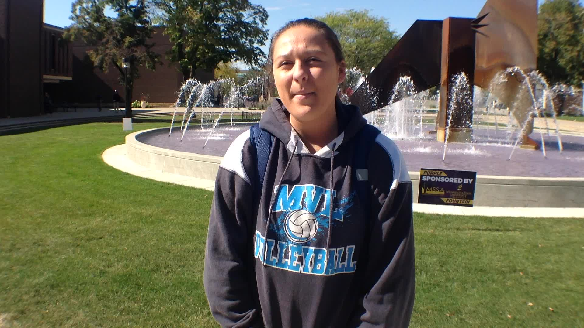 Nicole Rieger, New Ulm, MN - Homecoming 2015 at Minnesota State University, Mankato