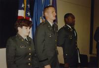 Reserved Officer Training Corps Army Cadets at Mankato State University, 1991-06-07.