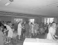 Mother-Daughter tea at Cooper Center May 18, 1966.