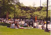 Student Life on campus at Mankato State University, 1991-05-15.