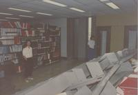 Mankato State University, Memorial Library photographs, 1990.