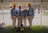 Taylor Center Ground breaking ceremony at Mankato State University, May 1998.