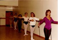 Ballet class at Mankato State University