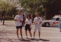 Students on the Campus Mall at Mankato State University, 1991-05-15
