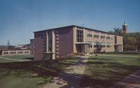 Mankato State Science and Applied Art Building at Mankato State College, Minnesota, 1950.