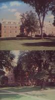 Mankato State Women's Residence Halls, Daniel Buck Hall, Cooper Hall at Mankato State College, Minnesota, 1950's.