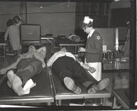 Blood Drive at Mankato State College, 1967-10-13.