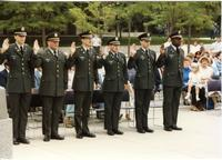 ROTC Officers Ceremony. Campus Mall Area at Mankato State University