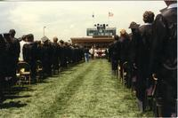Mankato State University graduates at Commencement, 1980s