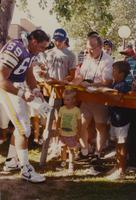 Vikings at Blakeslee Stadium of Mankato State University, 08-04-1990.