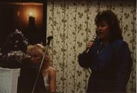 Speaker at the School of Nursing Pinning Ceremony at the Holiday Inn, Mankato, 1990-92.