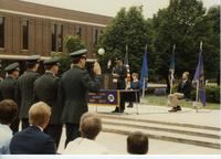 ROTC Event, ROTC Officers, Mankato State University
