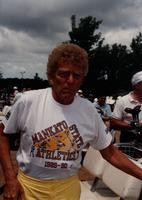 Man at MSU Golf Classic, Mankato State University, July 7th, 1989.