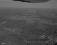 Aerial View of Mankato Campus, Mankato State College, 1968-01-01
