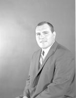 A portrait of football player Frank Salazar at Mankato State College, 1965-06-01.