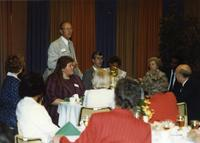 Rodney Searle at Mankato State University Distinguished Alumni Awards Reception, June 6, 1986