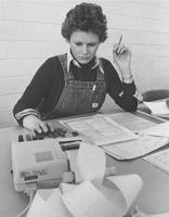 Business class-Adding machine, Mankato State University;