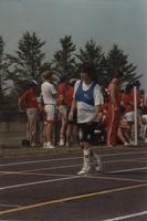 National Cerebral Palsy Games, Runner at the Track Competition, Mankato State University, July 15th, 1989.