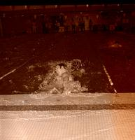 Swimming Race at Mankato State College, 1969-02-19.