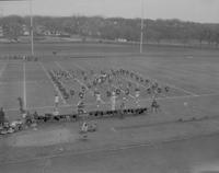 Band at Mankato State College, 1960-11-07