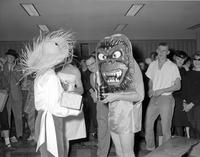 Halloween Party Mankato State College October 31, 1960.