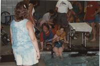 Swimming Competition in the Cerebral Palsy Games, Mankato State University, July 15th, 1989.