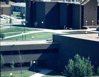 Zoomed View of Trafton Science Center. Mankato State University Presumed 1990s.