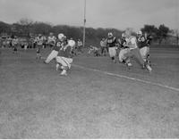 Football Game Mankato State College October 28, 1958.