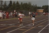National Cerebral Palsy Games, Runners at the Track Competition, Mankato State University, July 15th, 1989.